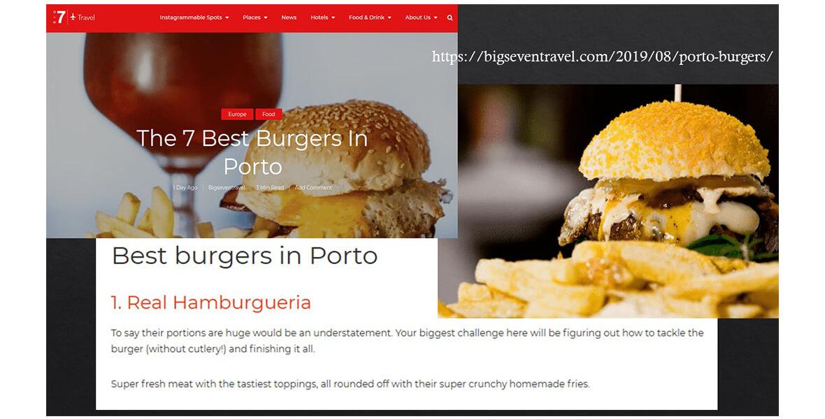 Os melhores hambúrgueres do Porto 2019q